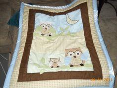 Blue Owl Baby Bedding   baby boy nursery theme - October 2011 Birth Club - BabyCenter