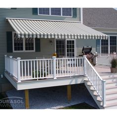 The Perfect Shade Flexi 16 x 12-ft. Manual Retractable Awning | from hayneedle.com