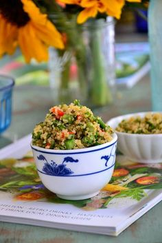 Quinoa Sweet-Pea Summer Salad  Glutenfree