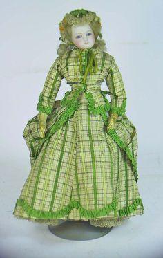 Fashion doll, ca. 1875