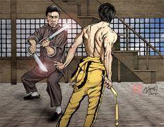 Wing Chun Martial Arts, Bruce Lee Martial Arts, Best Martial Arts, Martial Arts Workout, Bruce Lee Art, Hong Kong, Brothers Movie, Kung Fu Movies, Marijuana Art