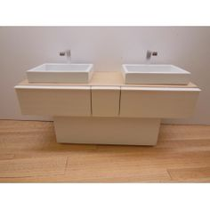 Dual Vanity Cabinet Only by Paris Renfroe Design specializes in Modern Dollhouse Furniture in scale and offers unique doll houses including the Pod Shipping Container. Miniture Dollhouse, Miniature Houses, Diy Dollhouse, Dollhouse Miniatures, Modern Dollhouse Furniture, Barbie Furniture, Miniature Furniture, Barbie Bathroom, Barbie Doll House