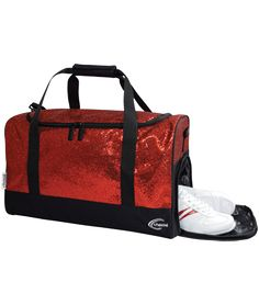 Glitter Duffle Bag for Cheerleaders