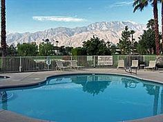 Palm Springs, CA: A nicely decorated and upgraded one bedroom, two bath condo located at the Desert Princess Country Club. Spacious living area and master bedroom, look.