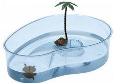 Cosas antiguas- Recipiente con tortugas, muy habitual en las casas para los mas pequeños