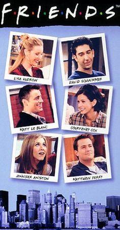 Created by David Crane, Marta Kauffman.  With Jennifer Aniston, Courteney Cox, Lisa Kudrow, Matt LeBlanc. Follows the lives of six 20-something friends living in Manhattan.