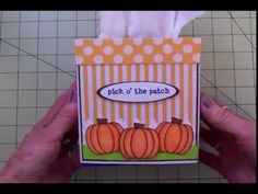 HOW TO MAKE A REALLY CUTE TISSUE BOX COVER