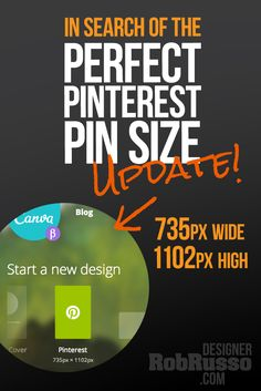 The Perfect Pinterest Pin Size