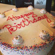 Gluten free or not custom cake from Sinners & Saints