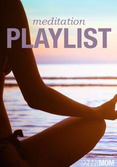 Creo que esta tarde me relajaré un poco con esta playlist de meditación cuando termine mi sesión de yoga. Ommmmmm : )