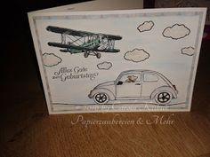 Papierzaubereien und mehr   : Geburtagspost ...