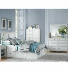 Abbott White Collection | Master Bedroom | Bedrooms | Art Van Furniture - the Midwest's #1 Furniture & Mattress Stores