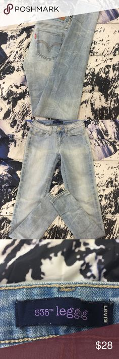 🔥  Levi's 535 Legging Denim Jeans Size 1 M Levi's 535 Legging Denim Jeans  The Hems on the jeans do look altered, Please Refer to the Pictures  Size 1 M  Measurements:  Waist - 12 (24) in  Inseam - 29 in  Leg Opening - 4.5 in  Thank You for checking Out This Item :) , Be sure to add other Items from my Closet to Your Bundle before you Checkout for 10% off your order!  Fishman23 - W59 Cross Levi's Jeans