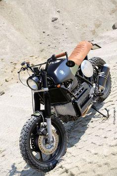 Matilda - Custom from ToysGarage. Custom Bmw, Custom Cafe Racer, Bmw Cafe Racer, Custom Bikes, K100 Bmw, R80, Bobber, Ducati, Yamaha