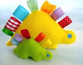 Embroidery Design for Machine Embroidery Dinosaur Toy In-The-Hoop