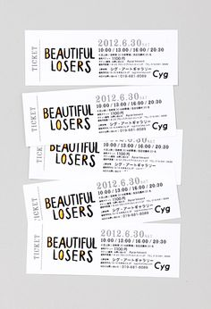 Creative ticket design - love the type on this! Ticket Design, Ticket Template, Business Events, Branding, Templates, Creative, Unique, Inspiration, Chicago