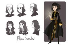Character study of Alina by leafette.tumblr.com