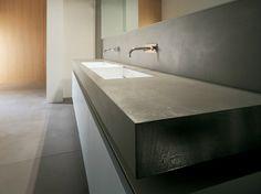 Prefinito Cemento® washbasin countertop PREFINITO CEMENTO Prefinito Cemento Collection by Moab 80