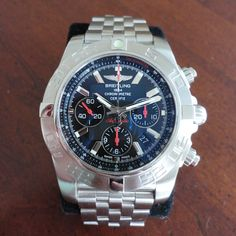 Breitling Limited 01 Chronomat 44 B01 AB0111 Limited Edition Chronograph Watch