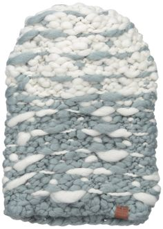 Bickley & Mitchell Women's Hand Knit Ombre Beanie, Grey, One Size