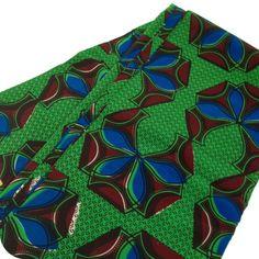 Tissu wax Green