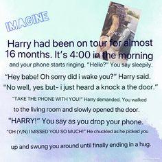 One Direction Imagine!!❤️ #HarryImagine #styles #ontour