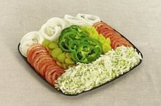 Sandwich Topping Tray Product Image