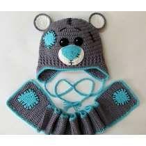 Conjunto Gorro Y Bufanda Crochet Bebe