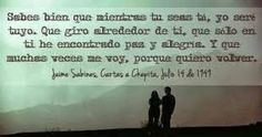 Cartas a Chepita, Jaime Sabines...