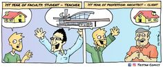 Gallery of The Architecture Student Through 15 Comic Strips - 1