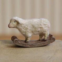 Little wooden sheep
