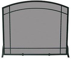 Uniflame Single Panel Mission Style Fire Screen