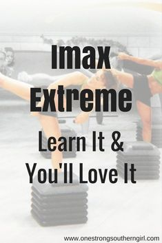 Imax Extreme-Learn It & You'll Love It-One Strong Southern Girl-Imax Extreme is one of Cathe Friedrich's most challenging step routines. This workout blends 2 other Cathe Friedrich routines into a calorie-killing workout. I'll tell you everything you need to know about it.