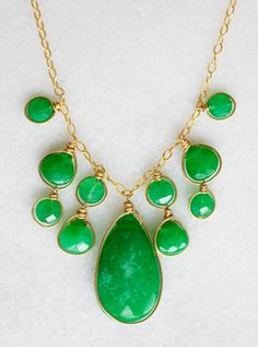Gorgeous necklace for summer @ The Garden of Uden in LeClaire (buying this soon!)