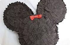 Πινιάτα μίνι μάους-Κατασκευή πινιάτας με χαρτόνι-Γενέθλια