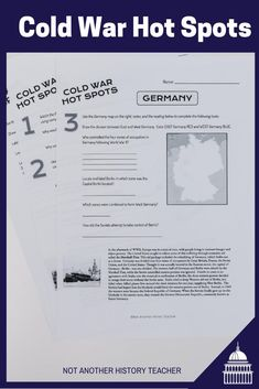 Enhance your teaching with this Cold War lesson! This is a nice overview assignment about the Cold War. Perfect for distance learning! Not only will this lesson lead your students to master critical thinking skills, but it will make your life much easier. What are you waiting for? Add it to your cart to make this year a breeze.