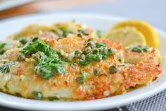 Fried Sole with Lemon and Caper Sauce