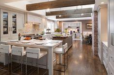 14 Appealing Rustic Modern Kitchen Design Ideas - My Home Design Modern Rustic Decor, Rustic Kitchen Design, Contemporary Home Decor, Kitchen Designs, Kitchen Ideas, Rustic Design, Rustic Style, Rustic Wood, Rustic Office