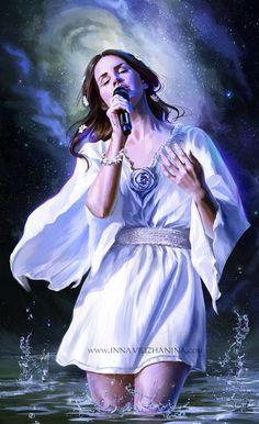 Lana Del Rey #art by Inna-Vjuzhanina