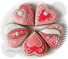 Valentine's Day Sugar Cookies, Pink Cookies, Chocolate Sugar Cookies, Fondant Cookies, Sugar Cookie Frosting, Cupcakes, Fancy Cookies, Chocolate Hearts, Iced Cookies