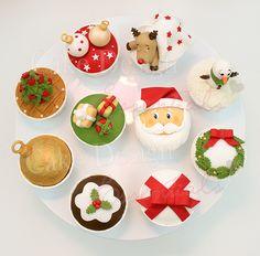 Tutorial – Cupcakes de Natal — Cake Design Essentials