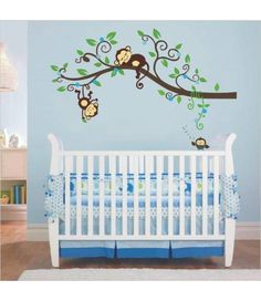 Cheap wall decor, Buy Quality monkey wall decals directly from China tree sticker Suppliers: Girl and Boy Jungle Monkey Wall Decal Vinyl Nursery Wall Decor With Name, Initial and Owl Wall Stickers, Monkeys Tree Sticker Staircase Wall Decor, Window Wall Decor, Baby Wall Decor, Cheap Wall Decor, Unique Wall Decor, Bathroom Wall Decor, Metal Wall Decor, Home Wall Decor, Nursery Decor