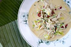 Thaisuppe med kylling Nom Nom, Cabbage, Dinner, Vegetables, Ethnic Recipes, Soups, Dining, Food Dinners, Cabbages