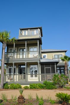 Raised beach house w15019nc 3 stories drive under garage for Beach house plans with garage underneath