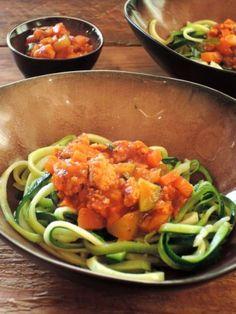 Recept: Ragout met slierten van courgette - Pascale Naessens | Kris Kookt