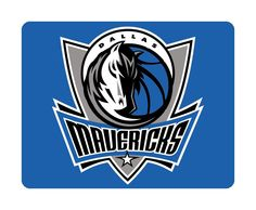 Dallas Mavericks Basketball Mouse Pad