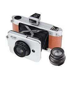 Cool vintage-style camera for the dad who loves to document Father's Day and beyond