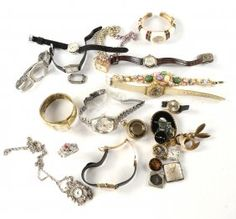 Ladies' 14k Gold Wrist Watch and Others : Lot 450