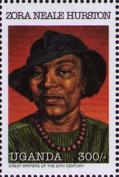 The literature / Stamps / Zora Neale Hurston Zora Neale Hurston, Commemorative Stamps, Black History Facts, Women In History, European History, African Diaspora, African American History, Stamp Collecting, Postage Stamps