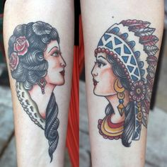 Canyon Webb - Sailor Jerry inspired chics